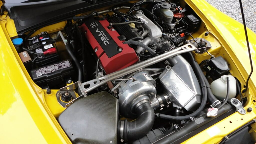Honda S2000 Supercharger Kit Installed