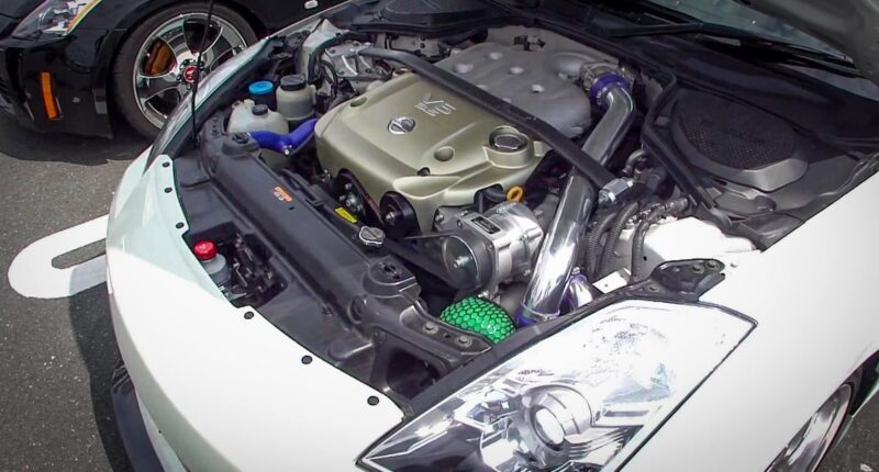 Nissan 350z HKS Supercharger