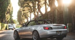 Honda S2000 with Lowering Springs