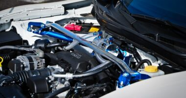 What does a strut bar do?