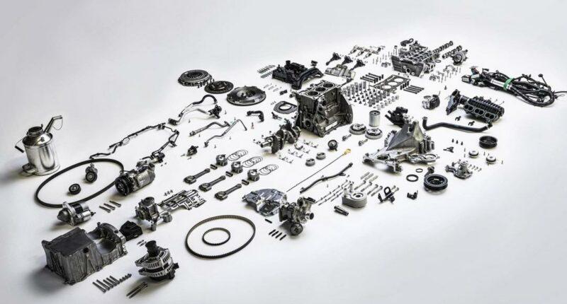 Car Parts List