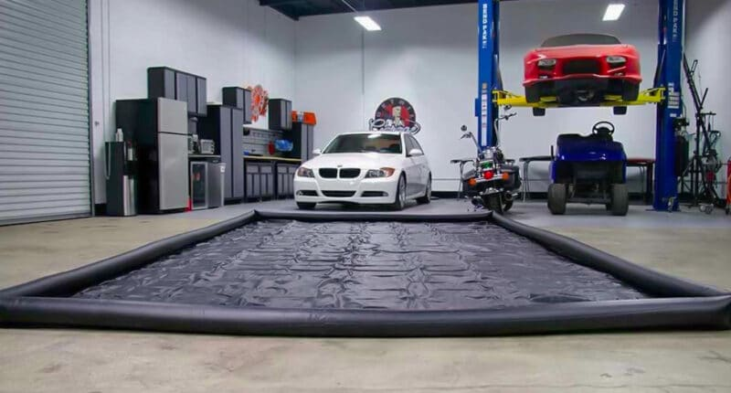 Guide to Garage Floor Containment Mats